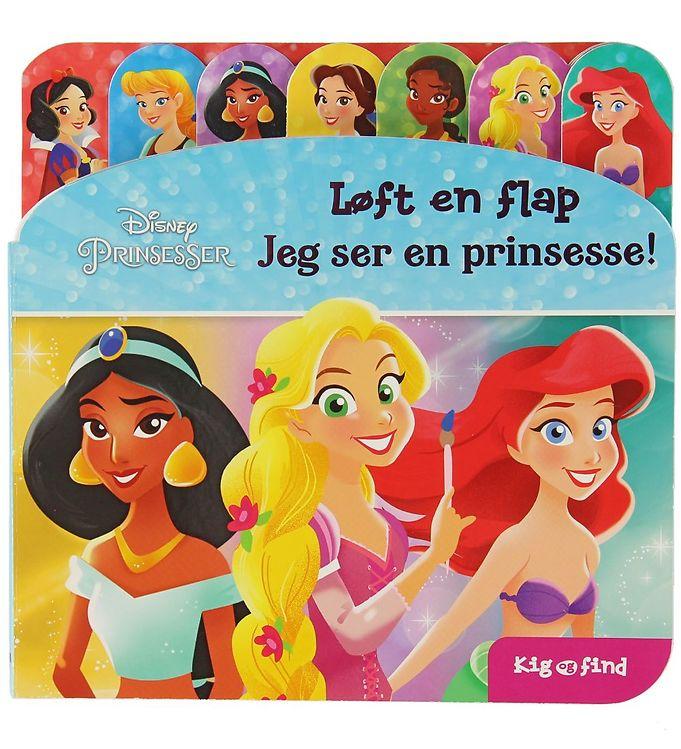 Image of Karrusel Forlag Flapbog - Kig og Find - Disney Prinsesser (XE787)