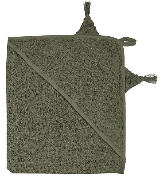 Image of Pippi Badeslag - 83x83 - Deep Lichen Green m. Drage (XE924)