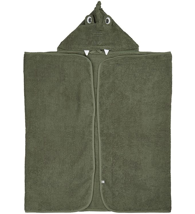 Image of Pippi Badeslag - 70x120 - Deep Lichen Green m. Drage (XE928)