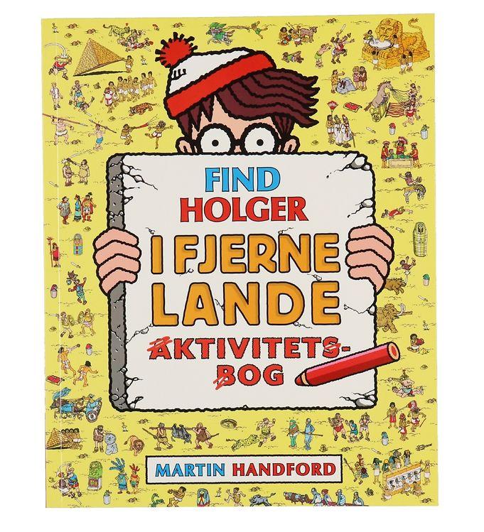 Image of Alvilda Aktivitetsbog - Find Holger I Fjerne Lande (XF097)