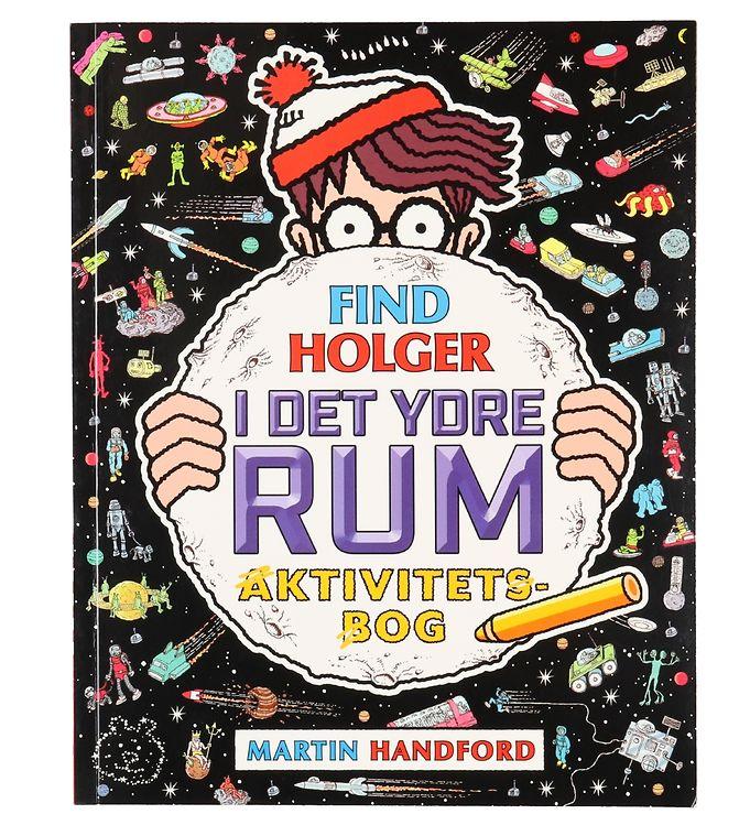 Image of Alvilda Aktivitetsbog - Find Holger I Det Ydre Rum (XF098)