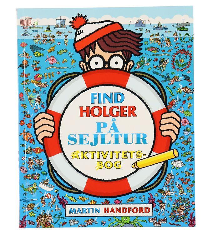 Image of Alvilda Aktivitetsbog - Find Holger På Sejltur (XF099)