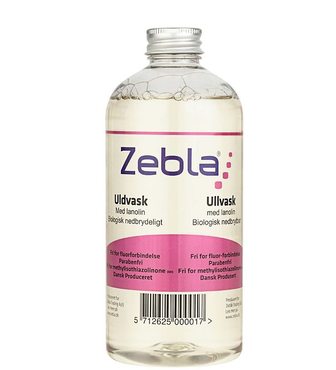 Image of Zebla Uldvaskemiddel - 500 ml (XF142)