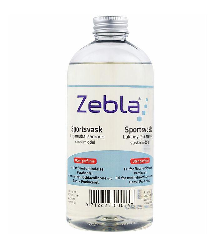 Image of Zebla Parfumefri Sportsvask - 500 ml (XF145)