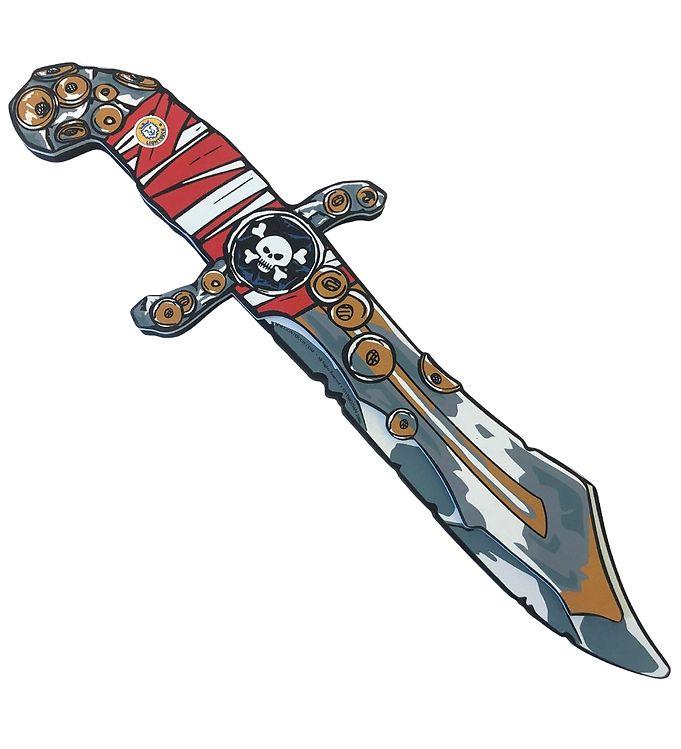 Image of Liontouch Udklædning - Piratkniv - Røde Striber (XF518)
