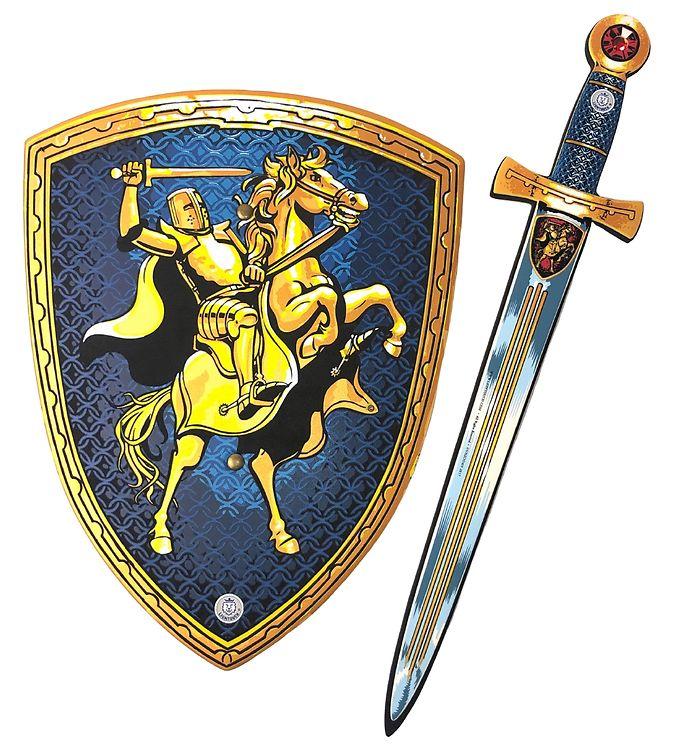 Image of Liontouch Udklædning - Riddersæt - Blå (XF532)