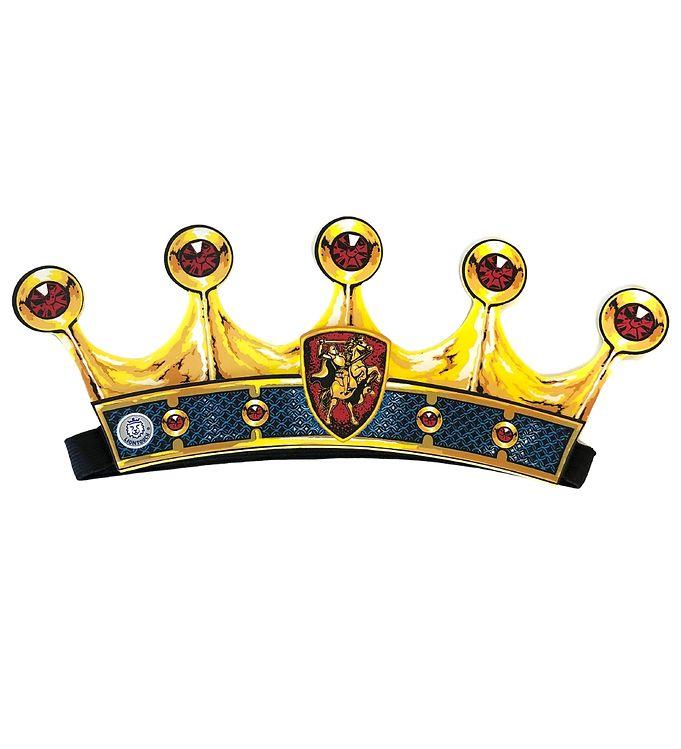 Image of Liontouch Udklædning - Ridder Krone - Blå (XF538)
