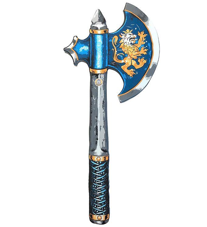 Image of Liontouch Udklædning - Noble Knight Økse - Blå (XF552)