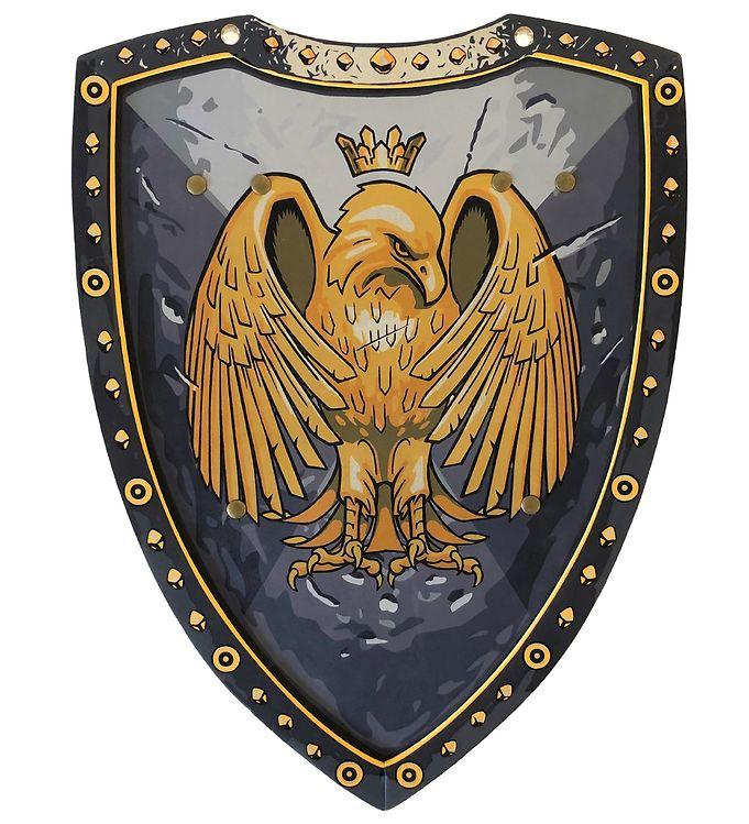 Image of Liontouch Udklædning - Golden Eagle Skjold - Grå (XF564)