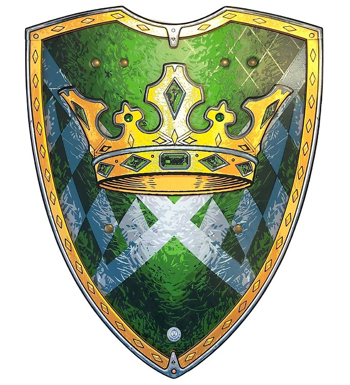 Image of Liontouch Udklædning - Kingmaker Skjold - Grøn (XF565)