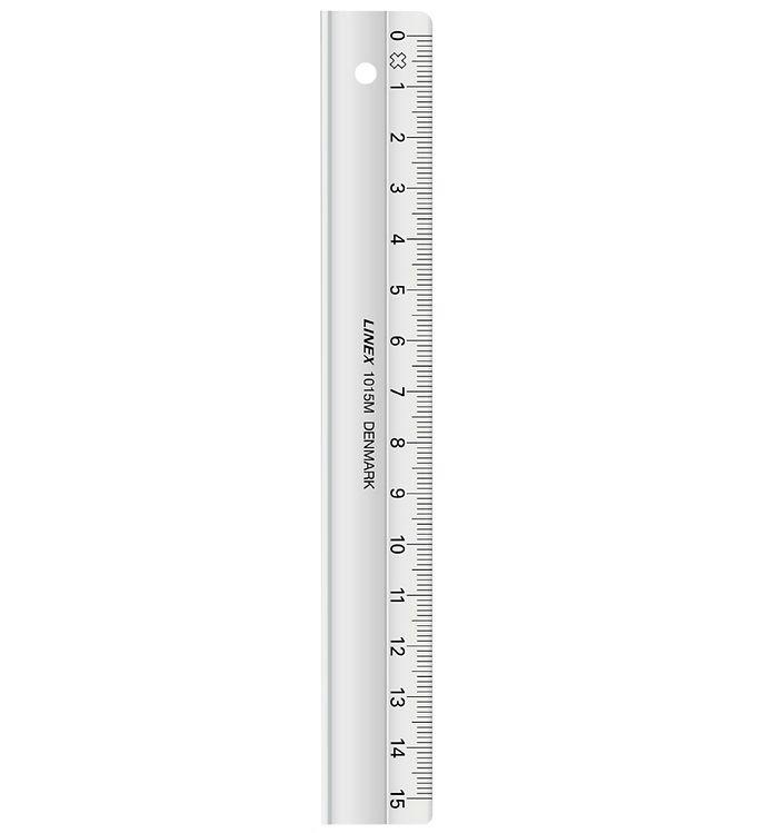 Image of Linex Lineal - 15 cm - Gennemsigtig (XF583)
