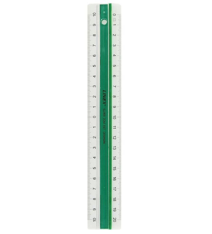 Image of Linex Lineal - 20 cm - Grøn (XF720)