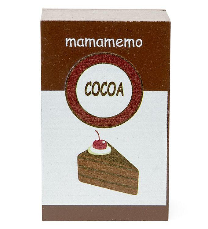 MaMaMeMo Legemad - Træ - Kakao
