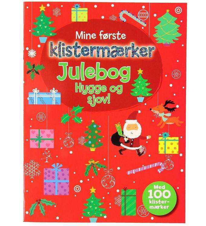 Image of Karrusel Forlag Julebog m. Klistermærker - Hygge og Sjov (XF950)