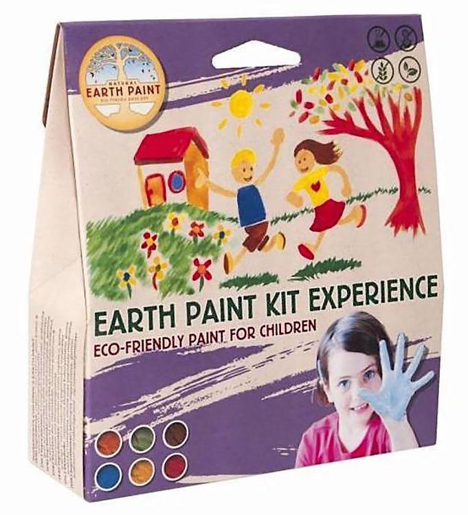 Image of Earth Paint Fingermaling - Experience - 6-pak - Multifarvet (XF964)