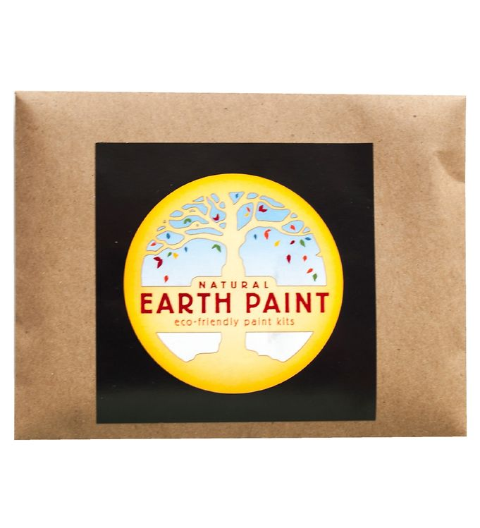 Image of Earth Paint Fingermaling - Sort (XF966)