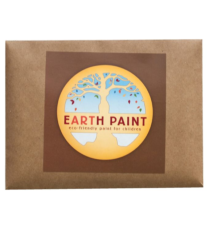 Image of Earth Paint Fingermaling - Brun (XF968)