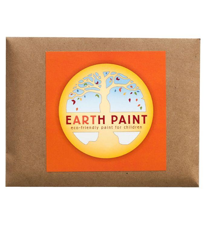 Image of Earth Paint Fingermaling - Orange (XF969)