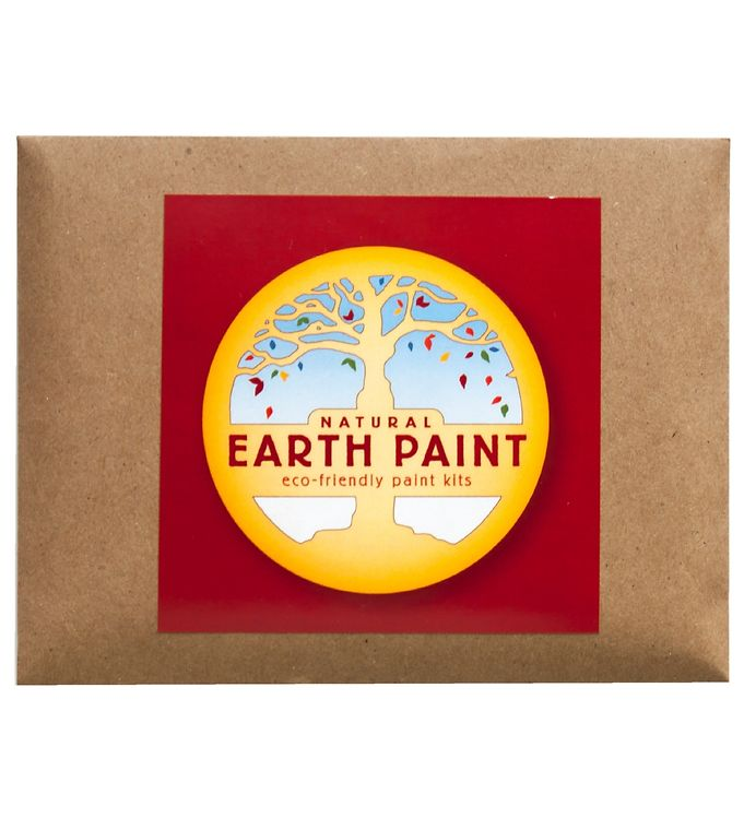 Image of Earth Paint Fingermaling - Rød (XF972)