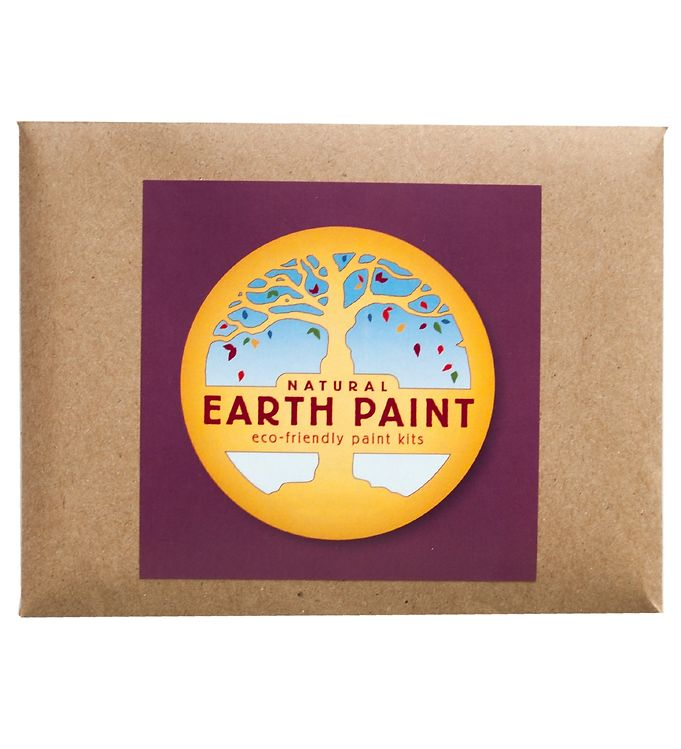Image of Earth Paint Fingermaling - Lilla (XF973)