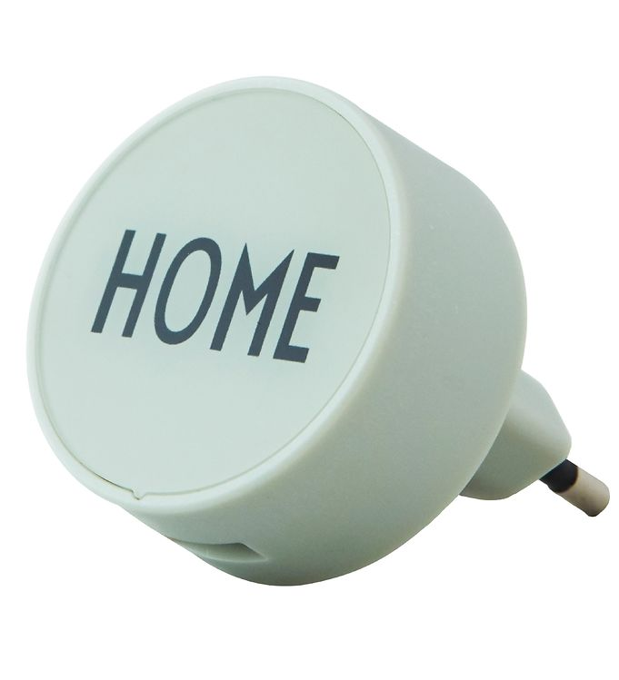 Image of Design Letters Adapter - 12W - Home - Soft Green (XF987)