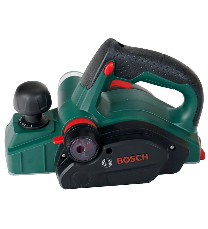 Image of Bosch Mini Høvl - Legetøj - Grøn m. Lyd/Blyantspidser (XG058)