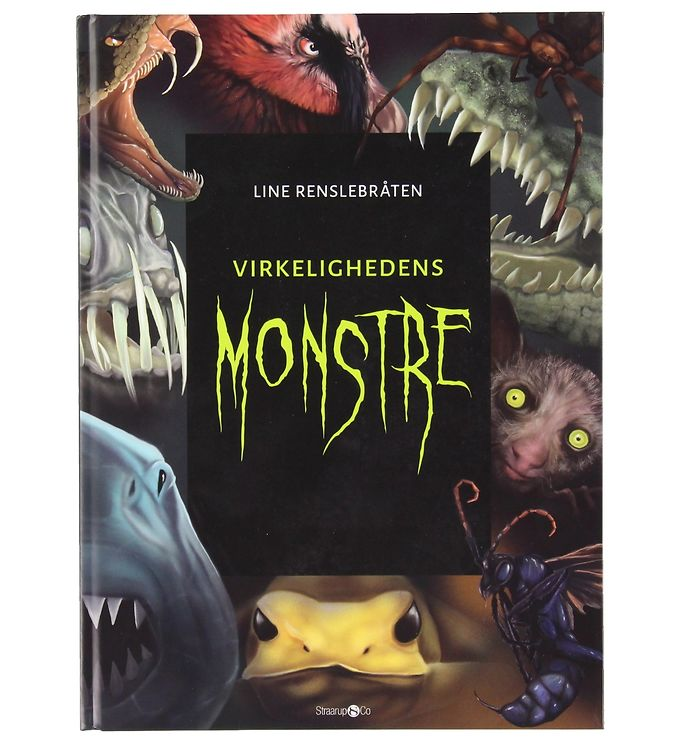 Image of Straarup & Co - Virkelighedens Monstre m. Monsterkort (XG059)