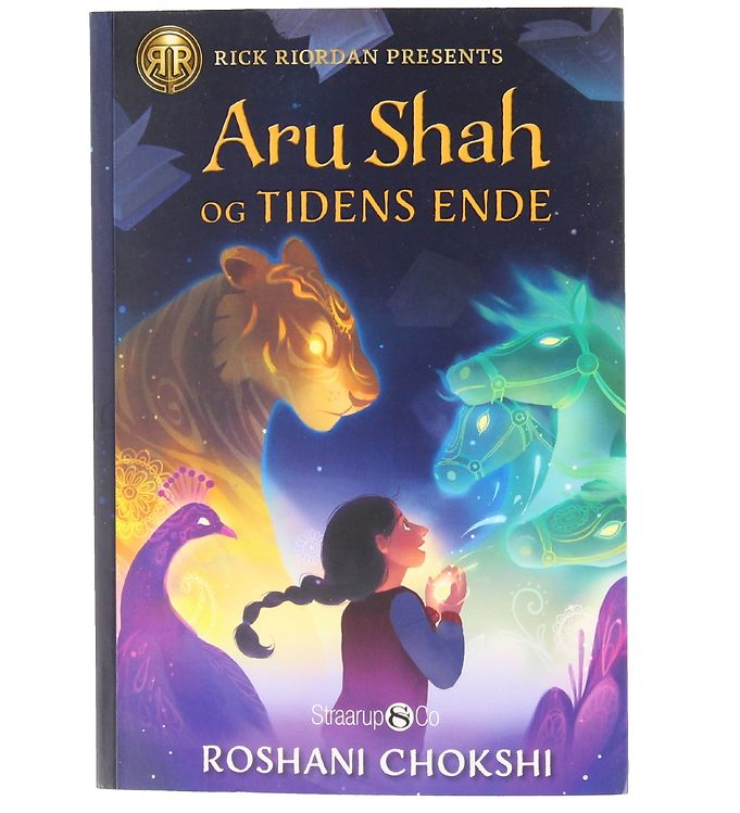 Image of Straarup & Co Bog - Aru Shah og Tidens Ende - Bind 1 (XG063)