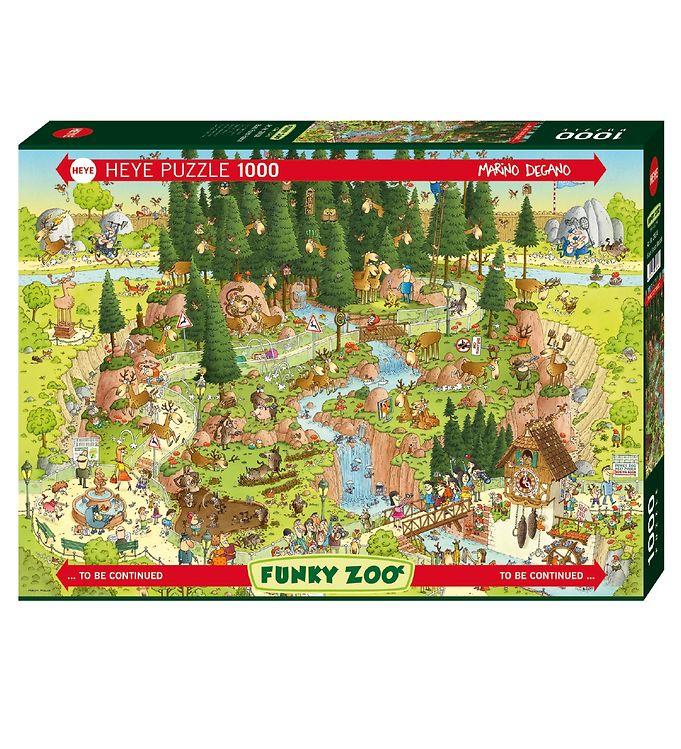 Image of Heye Puzzle Puslespil - 1000 Brikker - Black Forest Habitat (XG093)