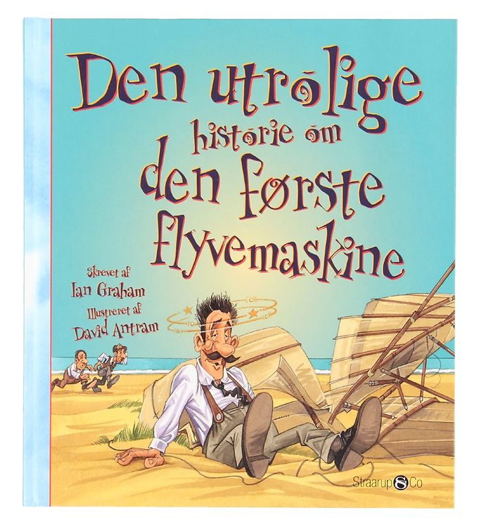 Image of Straarup & Co Bog - Den Utrolige Historie om Den Første Flyvemas (XG104)