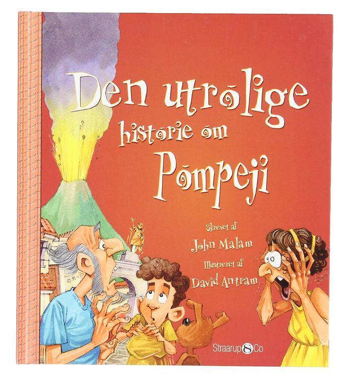 Image of Straarup & Co Bog - Den Utrolige Historie om Pompeji (XG105)