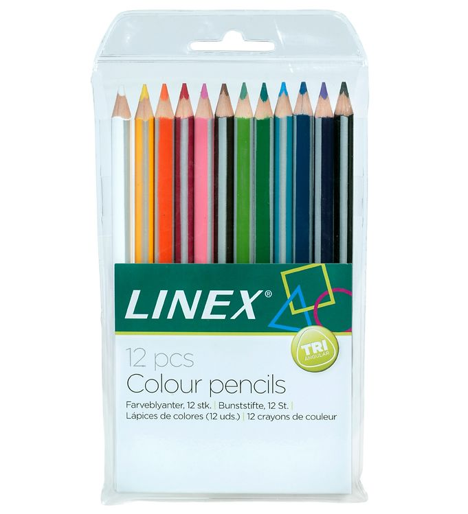 Image of Linex Farveblyanter - 12-pak - Multifarvet (XG234)