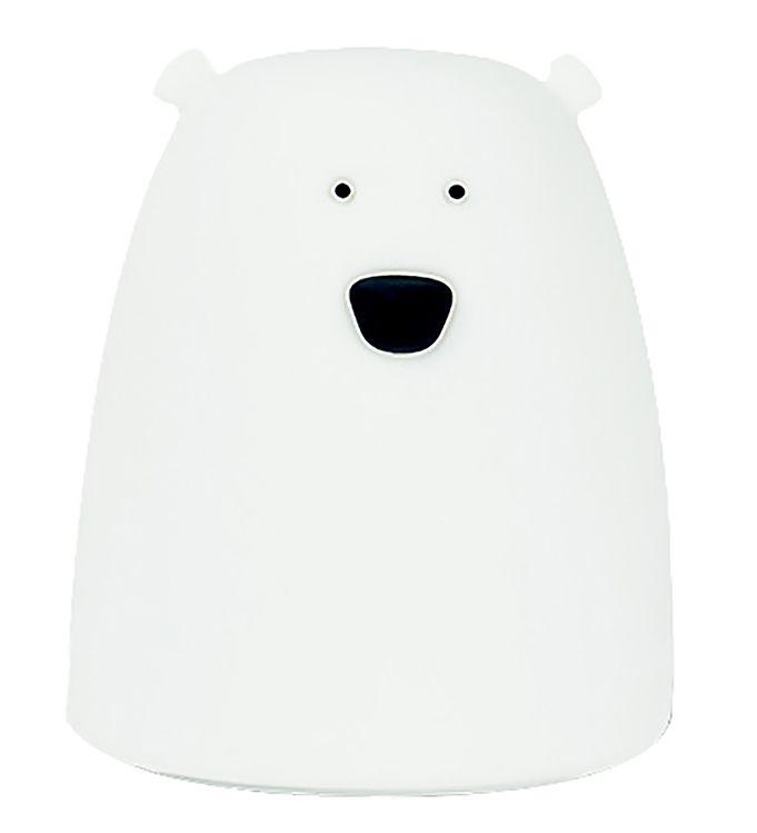 Image of Rabbit & Friends Lampe - Lille Bjørn - Hvid (XG328)