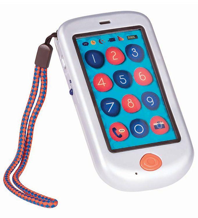 Image of B. toys Telefon - Legetøj - Hi Phone - Sølv (XG371)