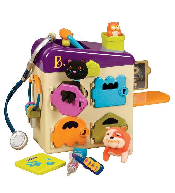Image of B. toys Dyreklinik - Pet Vet - 8 Dele (XG375)