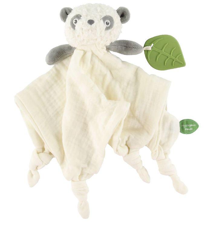 Image of My Teddy Nusseklud m. Bidering - 32x32 cm - Panda (XG425)