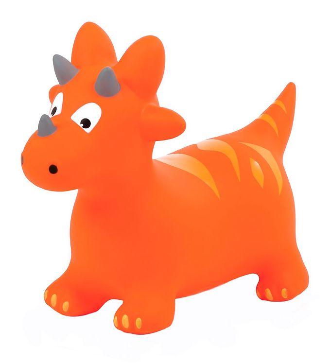 Image of Ludi Hoppedyr - Dino - Orange (XG450)