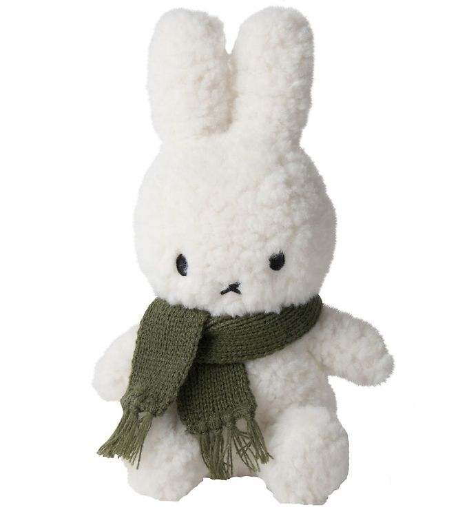 Image of Bon Ton Toys Bamse - 23 cm - Sitting Miffy - Popcorn/Grøn (XG688)