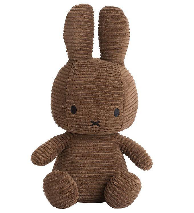 Image of Bon Ton Toys Bamse - 23 cm - Sitting Miffy - Brun Fløjl (XG692)