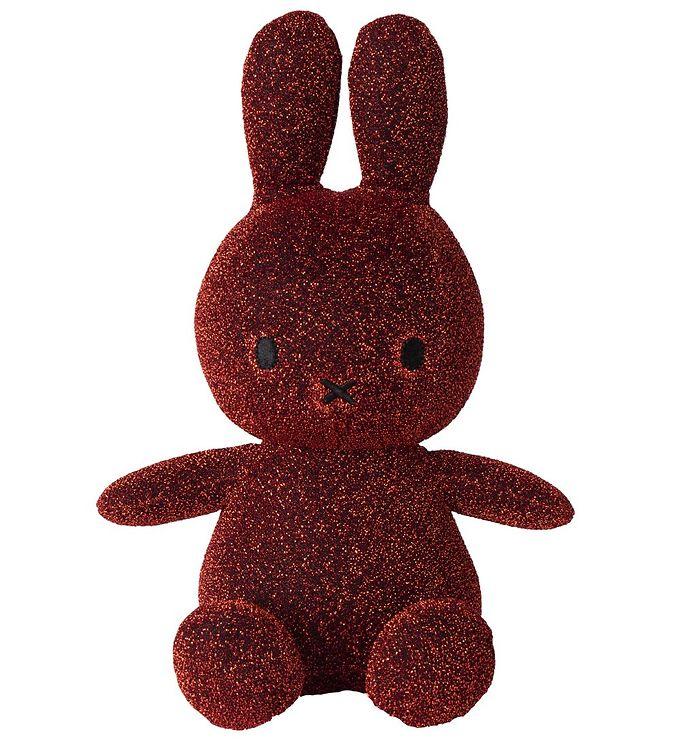 Image of Bon Ton Toys Bamse - 23 cm - Sitting Miffy - Kobberglimmer (XG694)