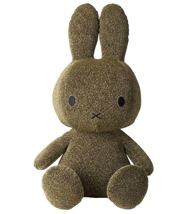 Image of Bon Ton Toys Bamse - 50 cm - Sitting Miffy - Guldglimmer (XG703)