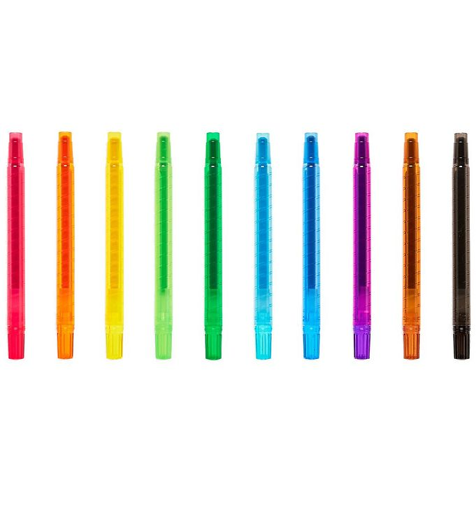 Image of Ooly Farveblyanter - Yummy-Yummy - 10-pak - Multifarvet m. Duft (XG751)