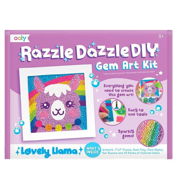 Image of Ooly Diamanttegning - Razzle Dazzle - Lovely Llama (XG757)