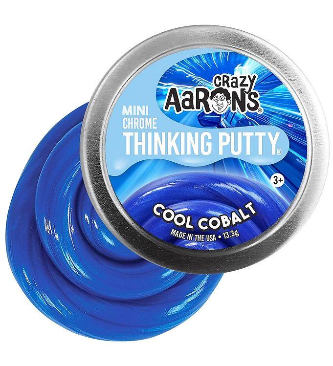 Image of Crazy Aarons Putty Slim - Ø 5 cm - Mini Chrome - Cool Cobalt (XG867)