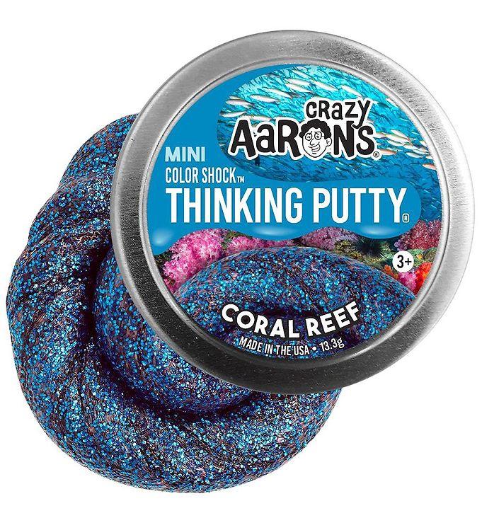 Image of Crazy Aarons Putty Slim - Ø 5 cm - Mini Color Shock - Coral Reef (XG879)