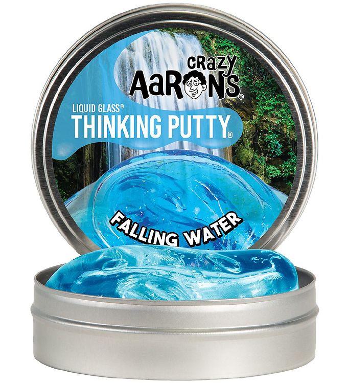 Image of Crazy Aarons Putty Slim - Ø 10 cm - Liquid Glass - Falling Water (XG885)