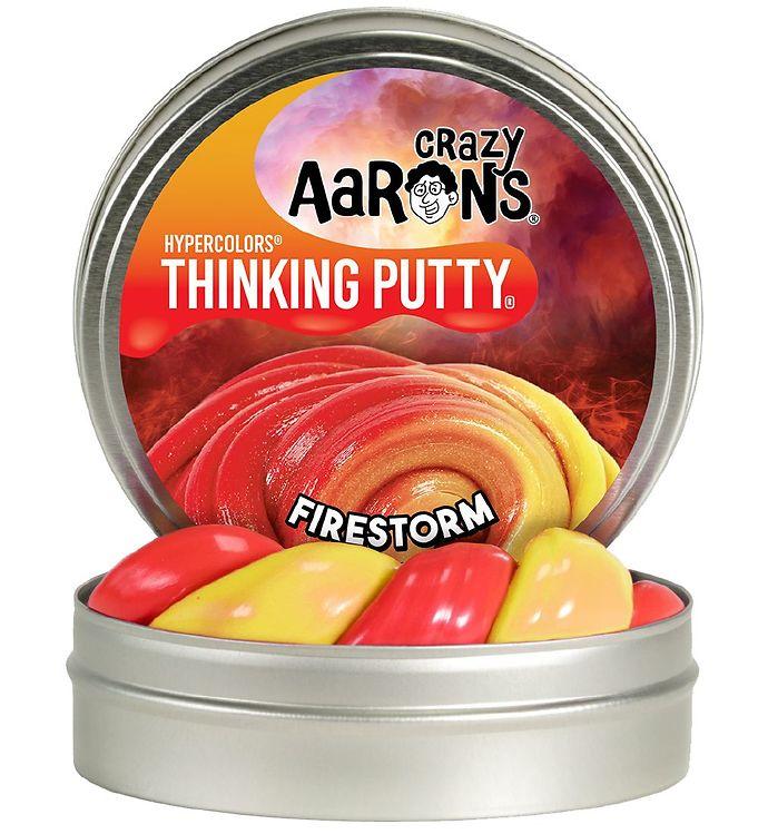 Image of Crazy Aarons Putty Slim - Ø 10 cm - Hypercolors - Fire Storm (XG887)
