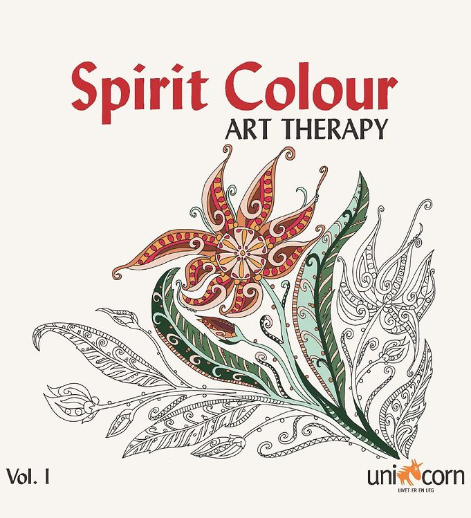 Image of Mandalas Terapibog - Spirit Colour - Vol. I (XG963)