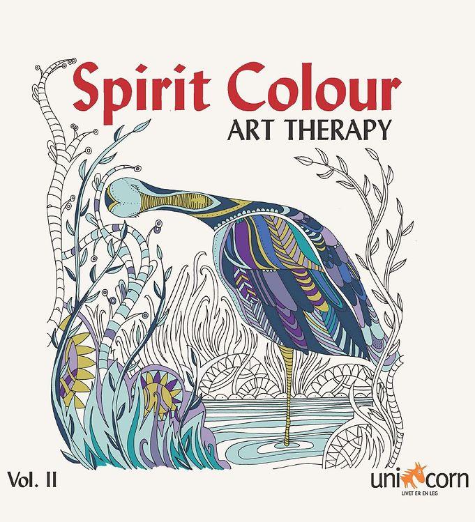 Image of Mandalas Terapibog - Spirit Colour - Vol. II (XG964)