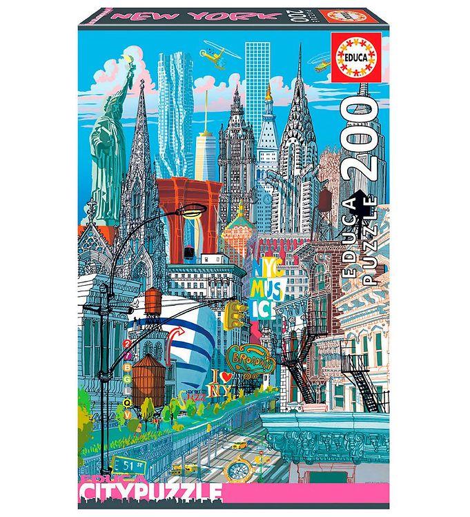 Image of Educa City Puslespil - 200 Brikker - New York (XH174)